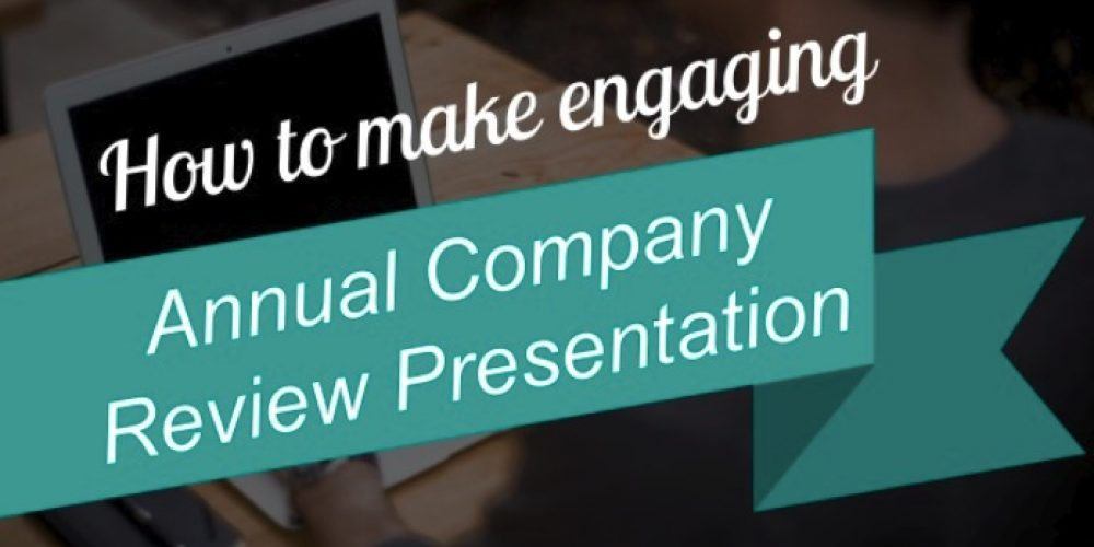 How to Make visual End-year Review presentation