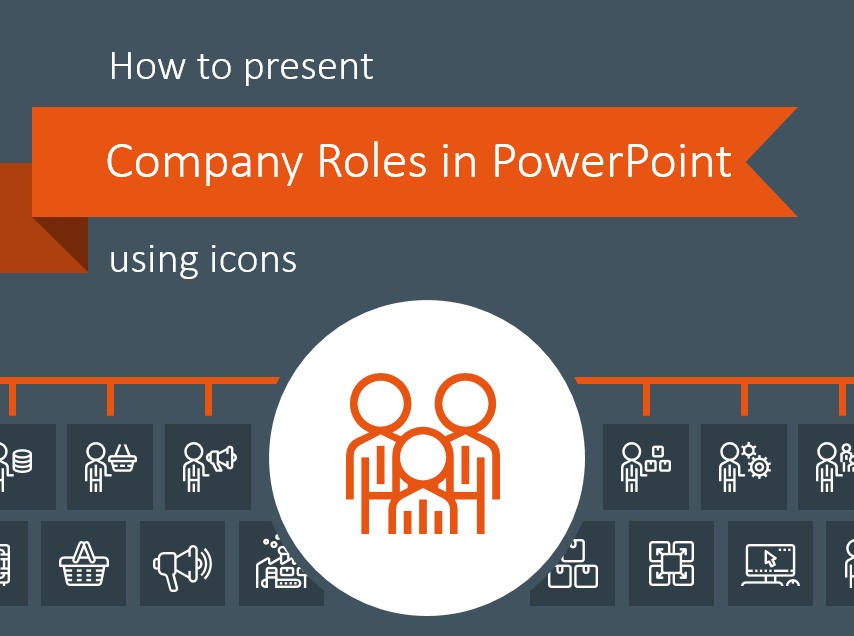How to Present Company Roles in PowerPoint Using Icons
