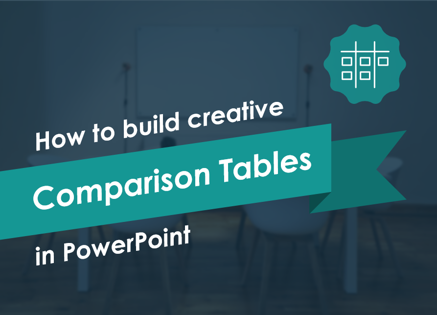 How to Build Creative Comparison Tables in PowerPoint