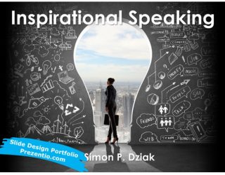 Motivational Speech Slides Design