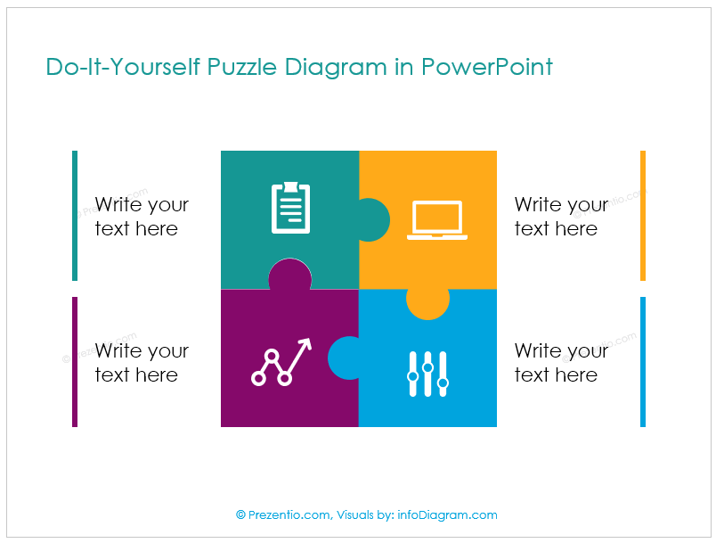 How to Create Puzzle Shapes in PowerPoint