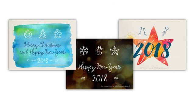 How to make Happy Holiday Card in PowerPoint