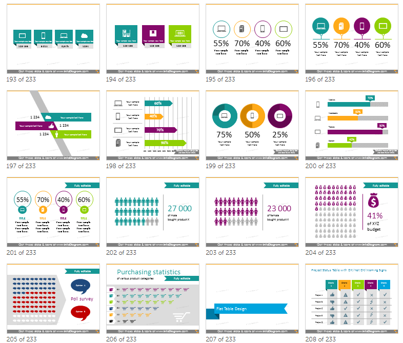 ppt infographics bundle